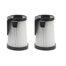 2 Filter fit for Eureka DCF-10, DCF-14, 62396 HEPA Vacuum Filter(China)