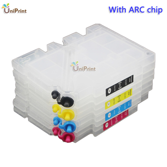 Refillable ink Cartridge For Ricoh GC31 GXE2600 GXE3300 GXE3300N GXE3350N GEX5050N GXE5500 GXE5550N GXE7700 with ARC chip