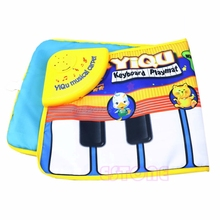 Touch Mat Play Learn Singing Piano Keyboard Kids Gift Toy Music Carpet Blanket #T026#(China)