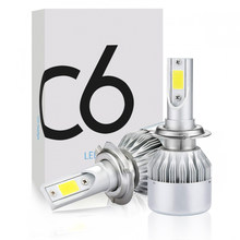 Car Headlight H4 LED Bulbs 9003 HB2 H13 9008 9004 9007 H1 H3 H7 H8 H9 H11 9005 HB3 9006 HB4 880 H27 Auto Headlamp Lights Bulb