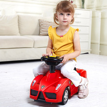 2017 New Year Gift Baby Children Walker Four Wheel Twist Car Learning Walk Kids Car Safety Ride On Cars  Vehicle Toy