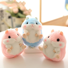 Plush Keychain Stuffed Dolls Small Pendant Brinquedos Kawaii Stuff Cute Keychain Cute Mini Stuffed Hamster Plush Toy 70C0605