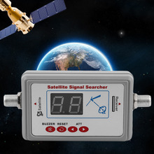 GSF-9507 Portable Size LED Screen Dispaly Satellite Finder Universal TV Signal Finder Satellite Signal Finder