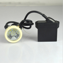 KL5LM(A) 1W 6000Lx Lithium Battery LED Miner's Light certification Mining Cap Lamp with Charger