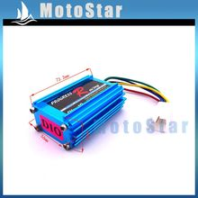 Blue Aluminum Racing CDI Ignition Box For Moped Scooter DIO Elite SA50 SB50 Spree SYM DD50