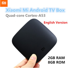 Buy English Version Xiaomi Mi Box Android 6.0 TV Box Quad-core Cortex-A53 2G 8G WIFI Google Cast Netflix Media Player Set-top Box for $72.99 in AliExpress store