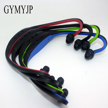 GYMYJP Portable Portable Sports MP3 Player MP3 mini Music Players Sports headphones  No Memory