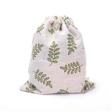 9 Styles Cotton Linen Drawstring Storage Bag Travel Bags Clothes Socks/Underwear Shoes Receive Home Sundry Kids Toy  Storage 30