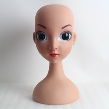 Child Kid Plastic Mannequin Head For Wig And Hat Display