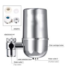 Best Faucet Mounted Filtration System in Kitchen Alkaline Ceramic Tap Faucet Water Filters Free Shipping