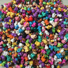 100 pcs/lot Soft SQUINKIES Mini Twisted Egg Many Different Model Cartoon Capsule Toys Random Without CONTAINERS(China)