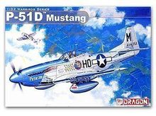 1/35 scale model Dragon 3201 North American P-51D Mustang Fighter(China)