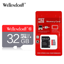 Free shipping wellendroff Class10 32gb Micro Sd Cards 4gb 8gb 16gb Memory Card TF Card Trans Flash Microsd Card
