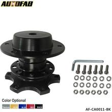 AUTOFAB - Steering Wheel Snap Off Quick Release Hub Adapter Boss kit Universal For Honda Civic ES EM 2 Door JDM 01-03 AF-CA0011(China)