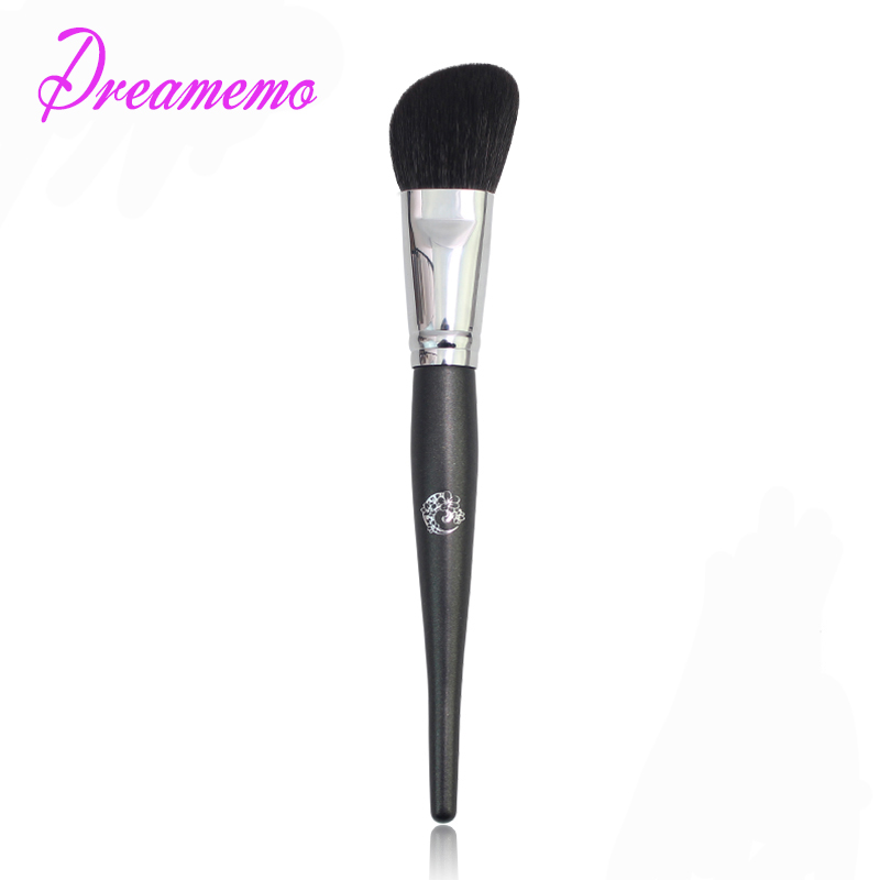 Dreamemo Single Professional Goat Hair Angled Contour Brush Blusher Makeup Brush Top Quality Cosmetic Tool<br>