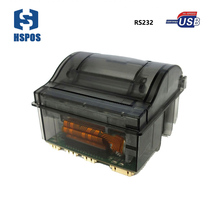 cheaper 58mm TTL receipt pos thermal Panel Printer easily embedded used for catering retail and car equipment(China)