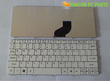 OEM US Layout Keyboard Replacement for Acer Aspire One Happy happy2 White