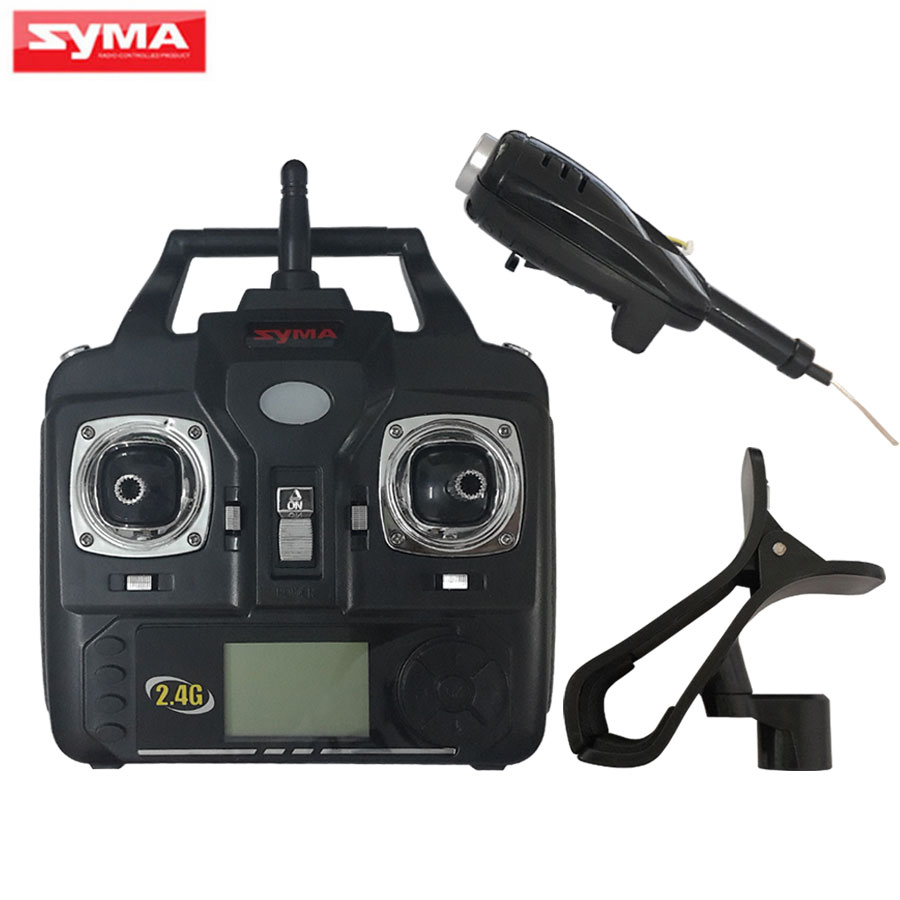 SYMA X5C X5SC X5SW RC Helicopter Spare Parts WiFi Camera + Remote Controller Transmitter Quadcopter Parts White and Black<br>
