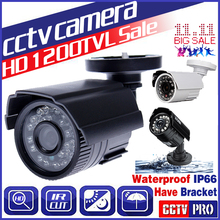 11.11biggest Sale!Cmos 1200TVL Hd Mini Cctv Camera Outdoor Waterproof 24Led Night Vision Small Video monitoring security vidicon(China)
