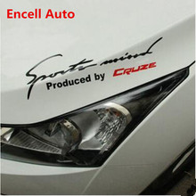 Sport Mind Lamp Eyebrow Headlights Decoration Car Stickers Auto Accessories Chevrolet Cruze 2009 - 2012 2013 2014 2015 2016 Encell Refitting ZONE store