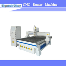 Low price China cnc router machine woodworking 1325 with 1300*2500mm working size vacuum table for wood engraving(China)