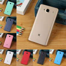 For Xiaomi Redmi 2 2A Matte/UV Back Battery Cover Good Quality PC Replacement Case 8 Colors For Xiaomi Hongmi Redmi2