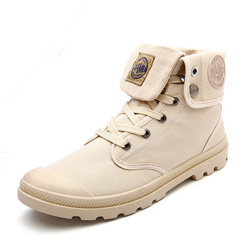 Beita Brand High Quality Leather Mens Boots Fashion Casual Shoes Men with Lace-Up Canvas Round Toe Winter Desert Boots Footwear<br>