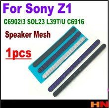 1pcs New Anti Dust Mesh For Sony Xperia Z1 L39H C6902/3 SOL23 L39T L39U C6916 Speaker Anti Dust Net at Bottom of Middle frame(China)