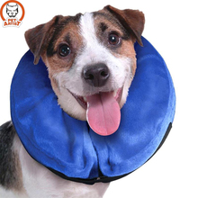 Inflatable Pet Collar Health Dog Cat Vet Approved Elizabethan Wound Healing Protection Medical Cone Collar(China)