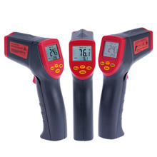 Digital Infrared IR Thermometer Temperature Tester Pyrometer Handheld Non-contact LCD Display with Backlight(China)