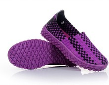 Scale innovative knit structure type non-slip soles hand-woven shoes  High Fashion Designer Cheap Name Brands Shoes