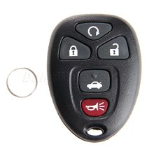 1Pc Replacement Keyless Entry Remote Start Control Key Fob Case Shelll 5 Buttons For Cadillac Chevrolet GMC OUC60270 Car-covers