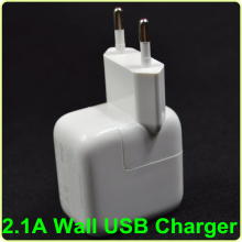 12W 2A new best quality European Wall Plug Socket for iPad for ipod 2 3 4 Mini Air AC Adapter Mains Charger EU travel charger(China)