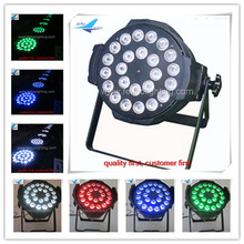 8 pieces 24x10w 4 in 1 led par can lumiere led par 64 par led rgbw dmx stage lighting(China)