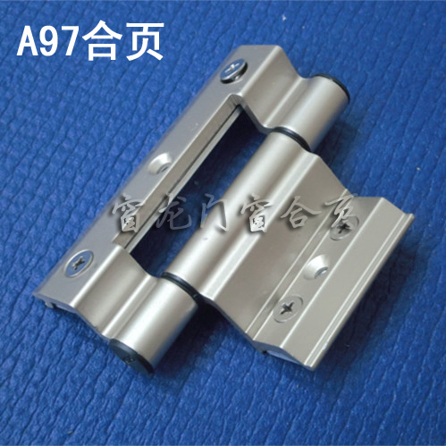 A97 Aluminum Alloy bridge outside the window hinge hinge doors and windows insulated aluminum doors and windows hinge sliding wi(China (Mainland))