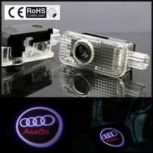 2 LED  Car Door Courtesy  Logo Light Shadow Projector Laser for Audi A8L A7 A6L Q3 A5 A4L A4A6 A1 R8  Q7 Q5 TT A8 (Fits: Audi)