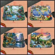 Customized Support Top Selling Computer Rubber Mouse Mat Mice Pad Gaming Pads NEW Square Dinosaurs Animals  Mouse Pad