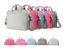 "11""13""15""15.6"" Nylon Laptop Shoulder Bag PC Handle Pouch Cover For Macbook Acer Dell IBM"