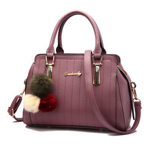 2017 New arrive Female Style Evening Bag Striped Handbag Women Bag Casual Tote Pu Leather Handbags Ladies Bags Shoulderbags