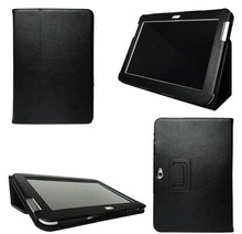 PU Leather Smart Cover Stand Case for Samsung Galaxy Note 10.1 N8000 N8010 N8013 + screen Film + Stylus