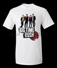 BIG TIME RUSH 10 MUST HAVE T-SHIRT POLYESTER(China)