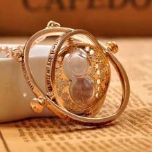 Tomtosh Time Turner Hermione Granger Rotating Spins Hourglass Gift Necklace Time Backflow Converter Hourglass necklace