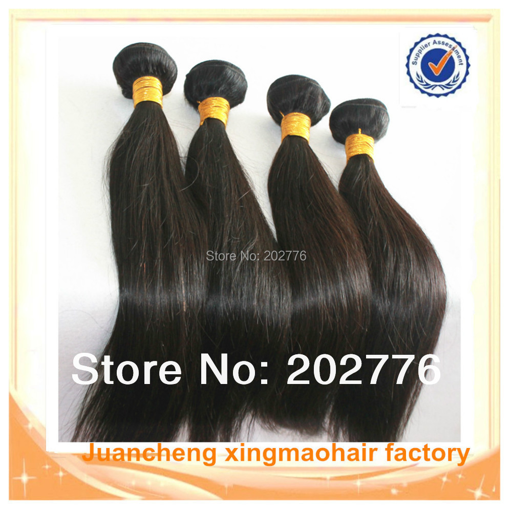 Qeen Hair Products Best Quality Peruvian Virgin Hair Straight Weave 4pcs lot Top Grade 8A 100%Unprocessed Human Hair Extensions<br><br>Aliexpress