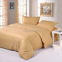 Yellow color bedding set king size,100% cotton hotel bedding sets,Fitted/ flat hotel bedlinen, king size hotel bedding sets