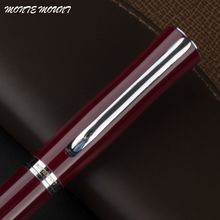 New arrival MONTE MOUNT Red dates metal roller ball pen luxury school office supplies monte brand writing smooth pen