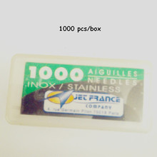 0.20X31 mm JET France Loose Tattoo Needle High Grade Professional Tattoo Needles 1000PCS/Pack(China)