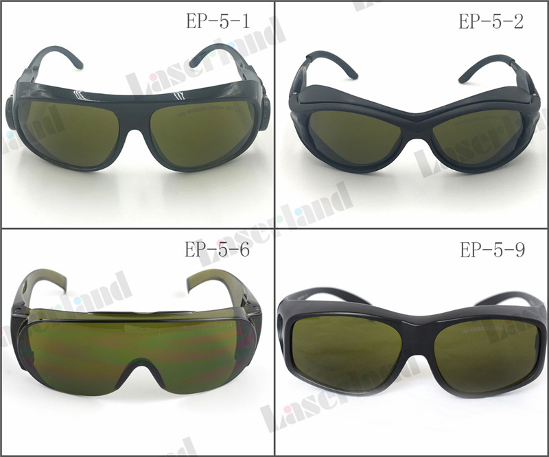 EP-5 CE Certificate IPL UV IR 200-450nm, 800-2000nm Laser Safety Goggles Protection Glasses O.D 4 Beauty Clinic<br>