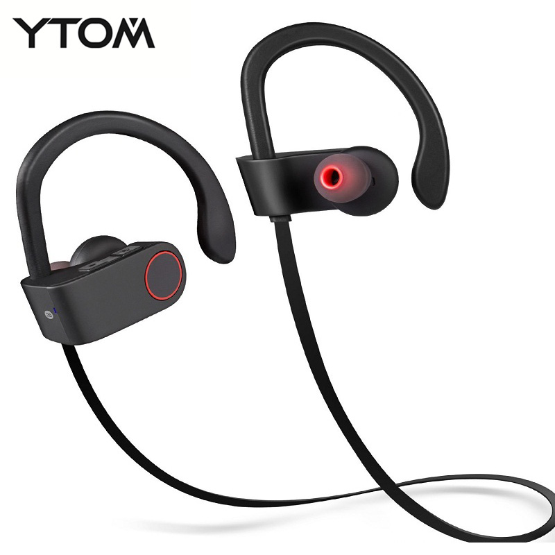 Wireless Bluetooth Earphones Headphones With Mic Headsets Support Noise Reduction Hands-free Call Music Sports Bluetooth Headset<br><br>Aliexpress