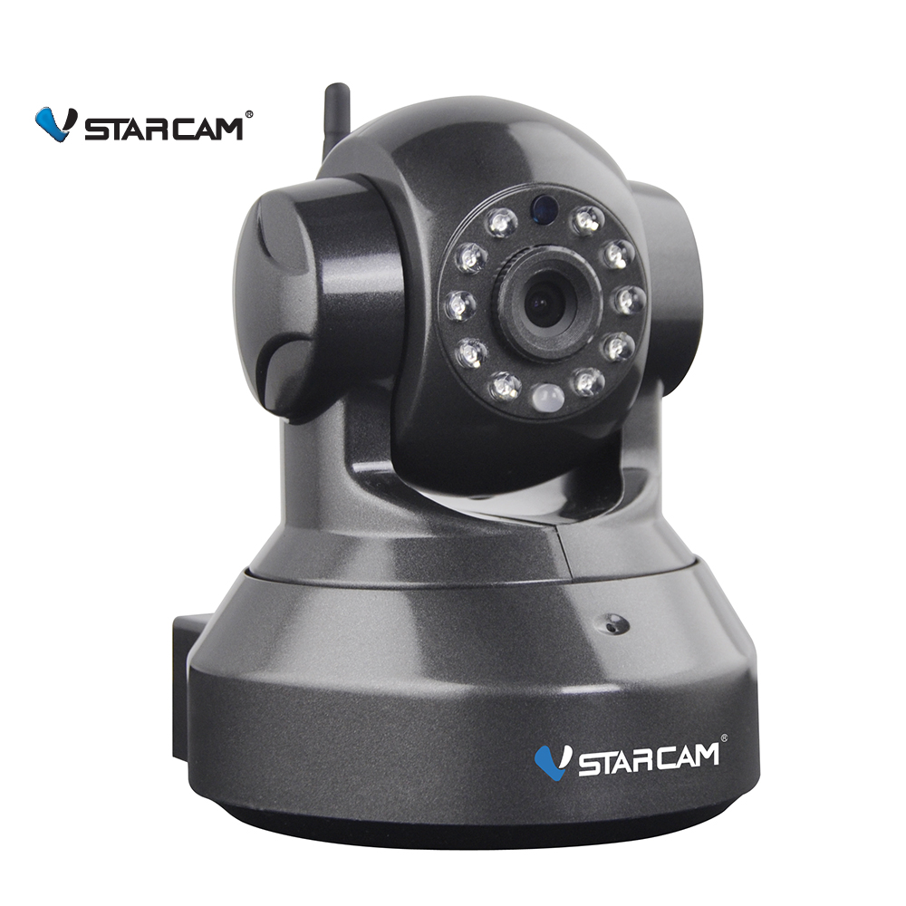 Vstarcam C7837(B) 720P mini wifi IP camera wireless webcam, 15 preset position Night Vision support SD card Home Surveillance<br>