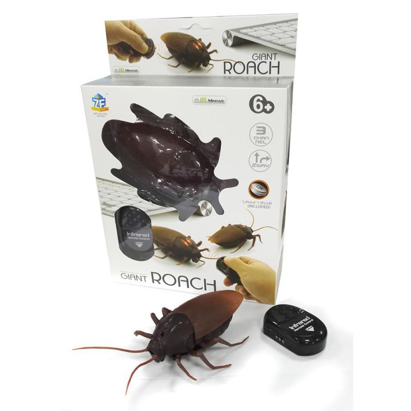 Infrared Ants Cockroaches Spiders Remote Control Mock Fake RC Toy Animal Bugs For Party Joke Practice Entertainment